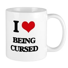 I love Being Cursed Mugs