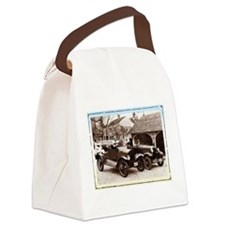 VintageAuto - Canvas Lunch Bag