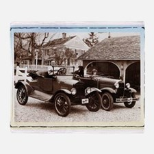 VintageAuto - Throw Blanket