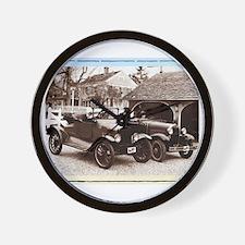 VintageAuto - Wall Clock
