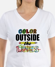 Color Outside The Lines Shirt