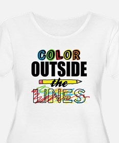 Color Outside T-Shirt