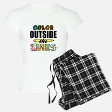 Color Outside The Lines Pajamas