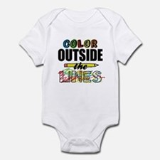 Color Outside The Lines Infant Bodysuit