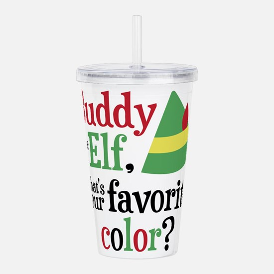 Elf Favorite Color Acrylic Double-wall Tumbler