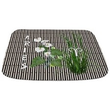 Bamboo and Lily Aries Bathmat