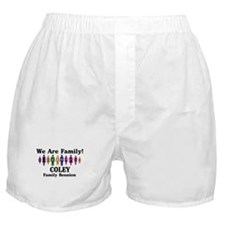 COLEY reunion (we are family) Boxer Shorts