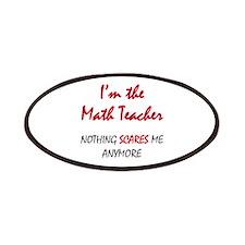 Math Teacher Patches