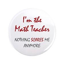 """Math Teacher 3.5"""" Button (100 pack)"""
