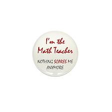 Math Teacher Mini Button (10 pack)