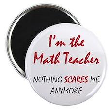 """Math Teacher 2.25"""" Magnet (100 pack)"""