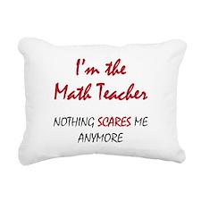 Math Teacher Rectangular Canvas Pillow