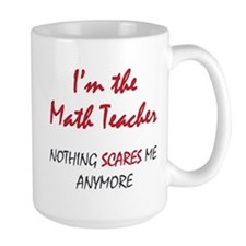 Math Teacher Ceramic Mugs