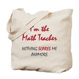 Math teacher Canvas Totes