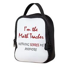 Math Teacher Neoprene Lunch Bag