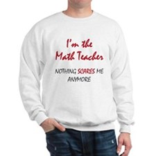 Math Teacher Sweatshirt
