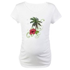 Tree with Hibiscus Shirt