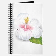 White Hibiscus Journal
