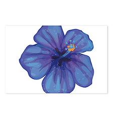 Purple Hibiscus Postcards (Package of 8)