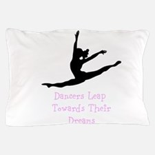 Dancers Leap Towards Their Dreams Pillow Case