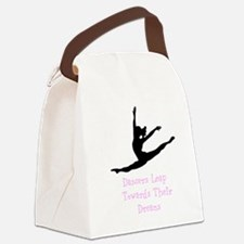 Dancers Leap Towards Their Dreams Canvas Lunch Bag