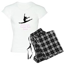Dancers Leap Towards Their Dreams Pajamas