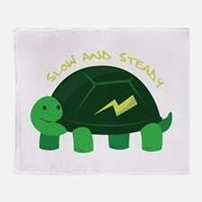 Slow & Steady Throw Blanket