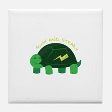 Slow & Steady Tile Coaster