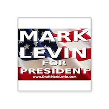 """Unique Levine Square Sticker 3"""" x 3"""""""