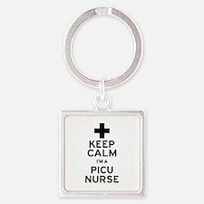 Keep Calm PICU Keychains