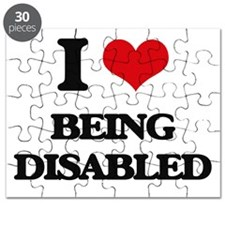 I Love Being Disabled Puzzle