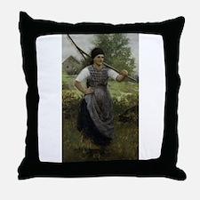 BohemianPeasant Throw Pillow