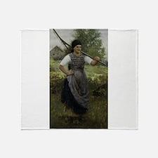 BohemianPeasant Throw Blanket