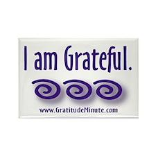 I am Grateful Rectangle Magnet