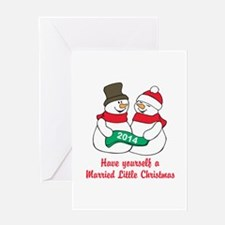 Christmas Newlyweds Greeting Cards