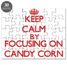 Keep Calm by focusing on Candy Corn Puzzle