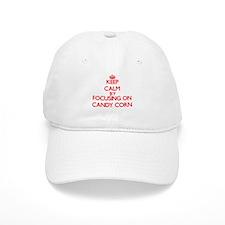 Keep Calm by focusing on Candy Corn Baseball Cap
