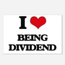 I Love Being Dividend Postcards (Package of 8)