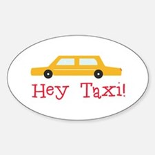 Hey Taxi Decal