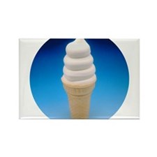 Cute Ice cream cone Rectangle Magnet