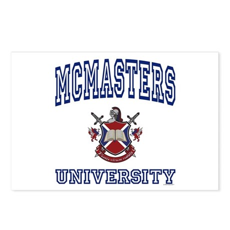 MCMASTERS University Postcards (Package of 8)