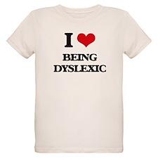 I Love Being Dyslexic T-Shirt