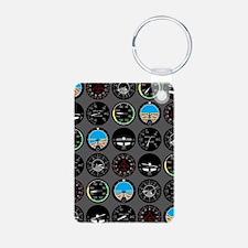 Flight Instruments Keychains