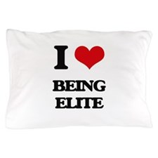 I love Being Elite Pillow Case