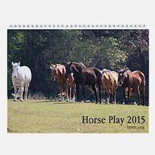 Horse Play 2015 Wall Calendar