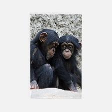 Chimpanzee002 Area Rug