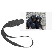 Chimpanzee002 Luggage Tag