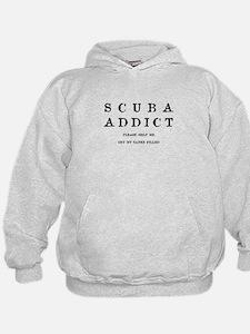 Scuba Addict Funny Hoodie