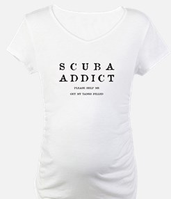 Scuba Addict Funny Shirt