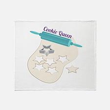 Cookie Queen Throw Blanket